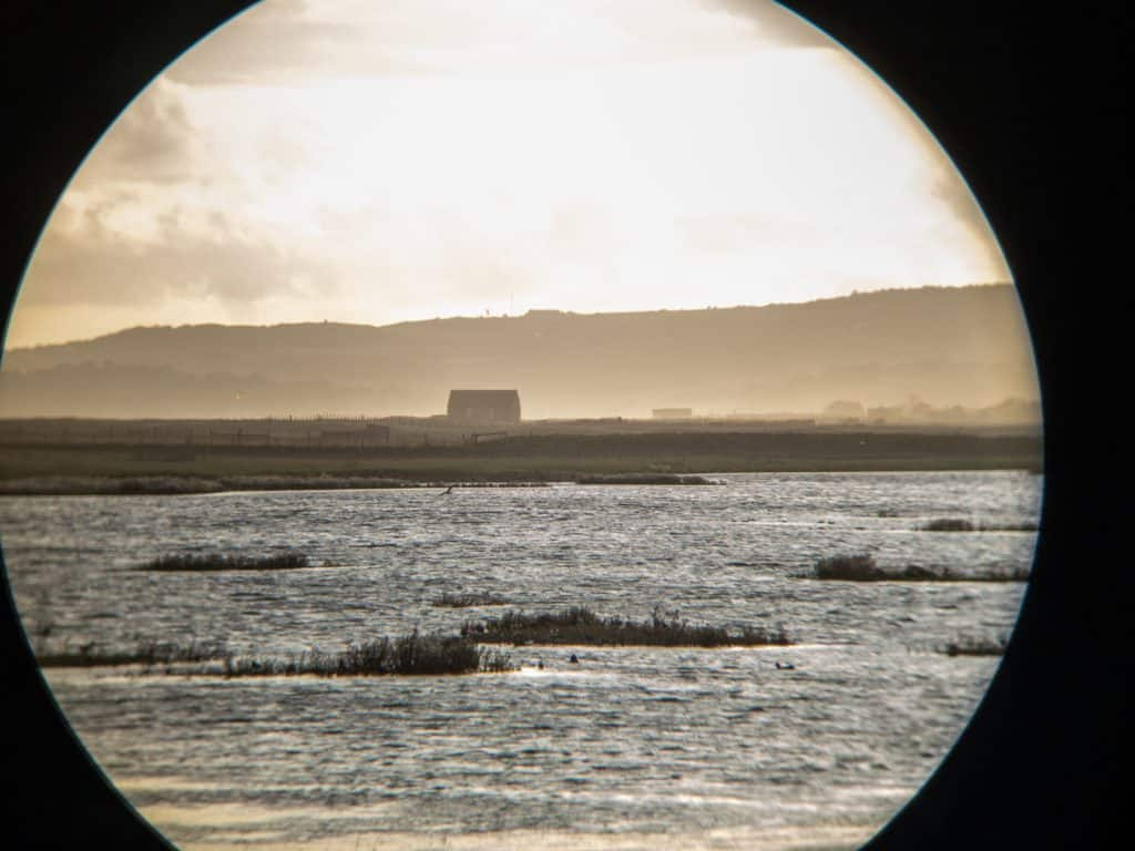 photographing through binoculars